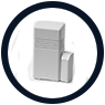 Door/Window Sensors: